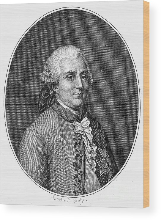 18th Century Wood Print featuring the photograph Charles De Vergennes by Granger