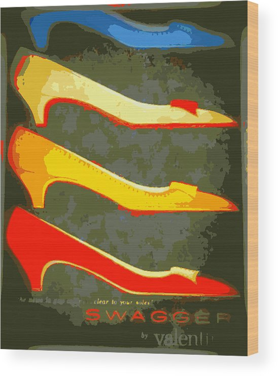 Shoes Wood Print featuring the photograph Never Enough by K Arthur