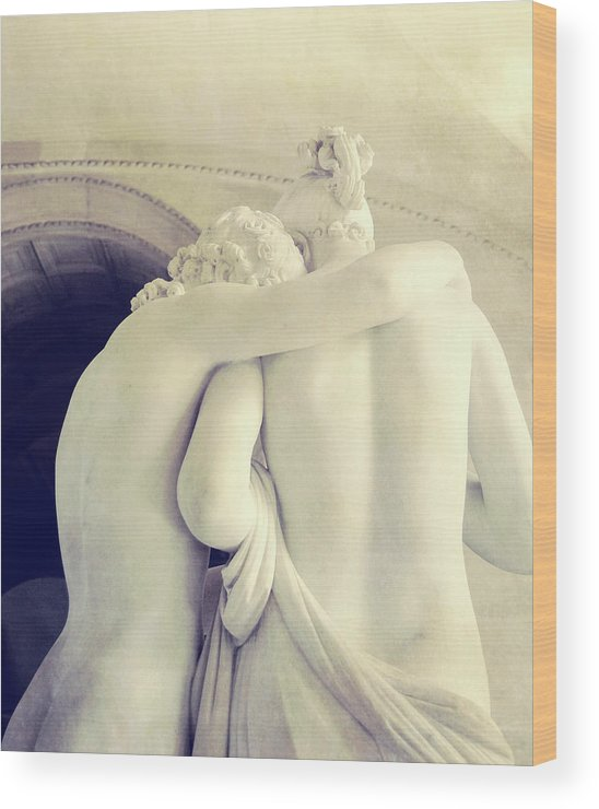 Psyche Wood Print featuring the photograph Cupid And Psyche by JAMART Photography