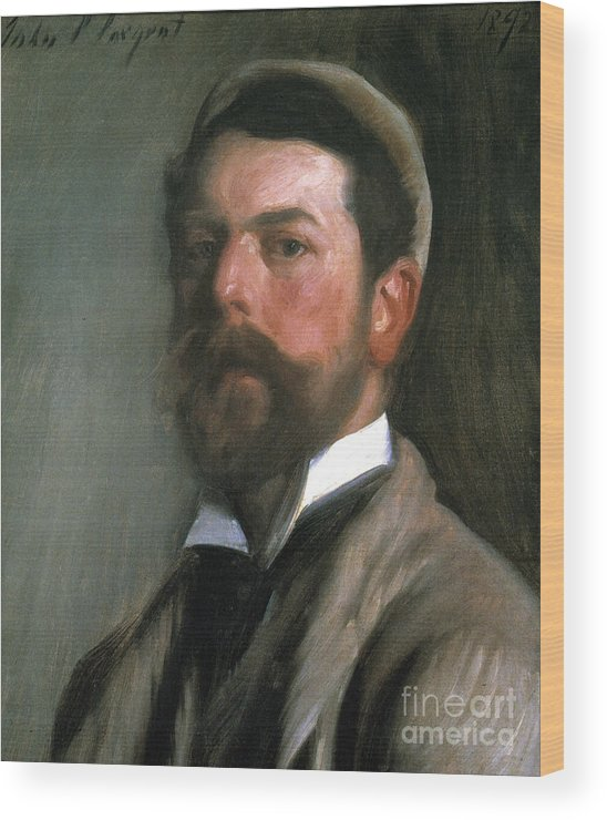 1892 Wood Print featuring the photograph John Singer Sargent by Granger