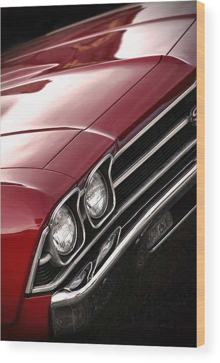 1967 Wood Print featuring the photograph 1969 Chevrolet Chevelle Ss 396 by Gordon Dean II