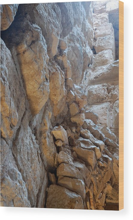 Wood Print featuring the photograph Ajloun by Virginie Vanos