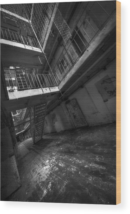 Wood Print featuring the photograph H15 by Jason Green