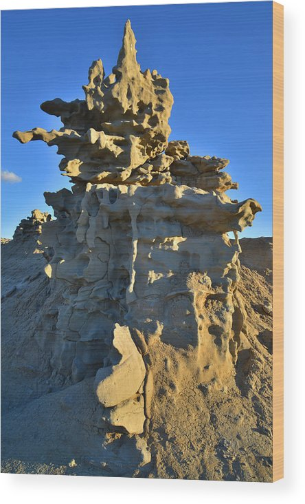 Fantasy Canyon Wood Print featuring the photograph Fantasy Canyon by Ray Mathis