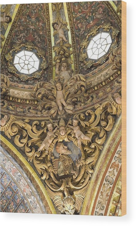 Europe Wood Print featuring the photograph Spain. Orihuela. Saint Dominics by Everett