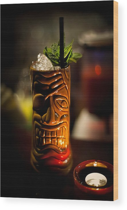 Drink Wood Print featuring the photograph Angry Maitai by Wolfgang Simm