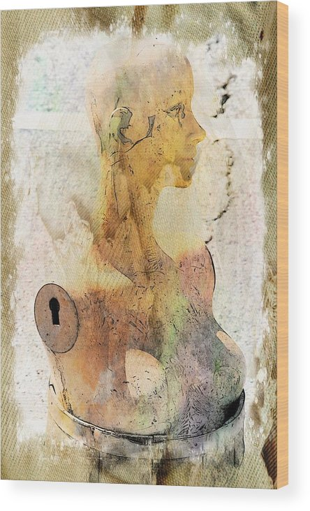 Mannequin Wood Print featuring the photograph Beauty Contained by Alice Gipson