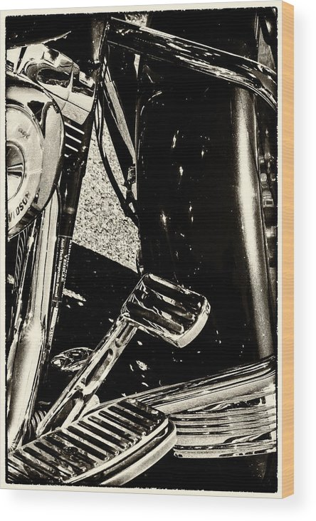 Bike Wood Print featuring the photograph Bike IIi by Tami Stieger