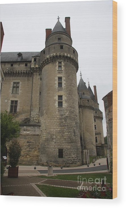 Castle Wood Print featuring the photograph Chateau De Langeais - France by Christiane Schulze Art And Photography