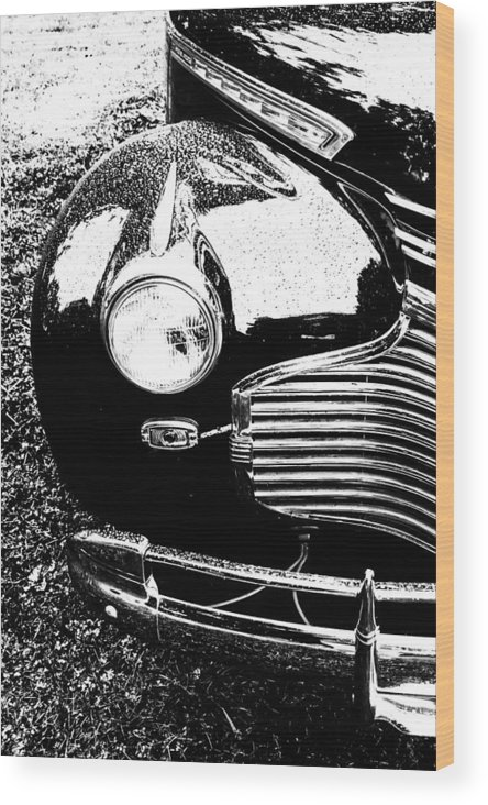 Car Wood Print featuring the photograph Chevrolet Classic by Tami Stieger