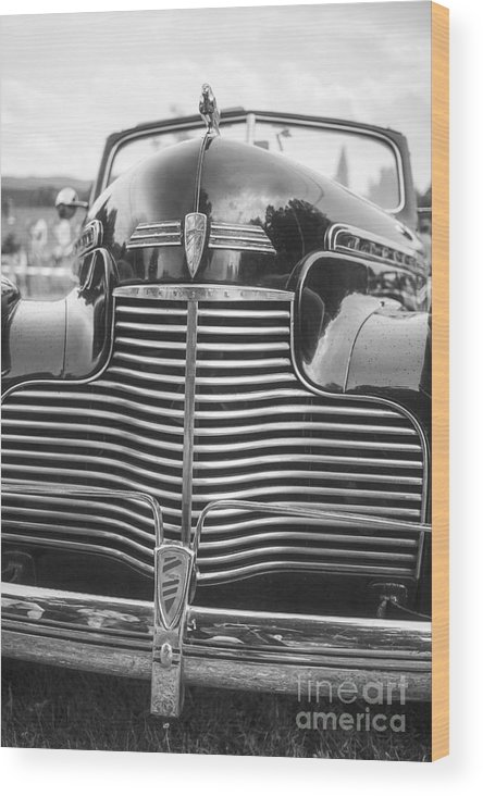 Chevy Wood Print featuring the photograph Classic Chevrolet by Edward Fielding