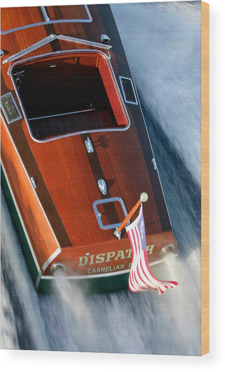 Riva Wood Print featuring the photograph Classic Garwood by Steven Lapkin