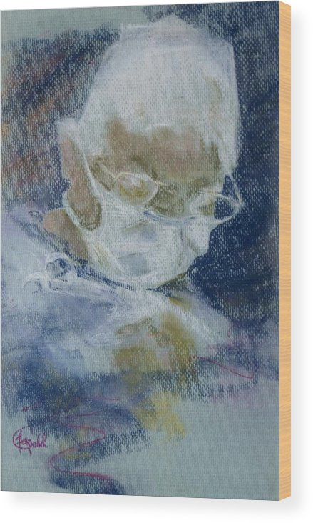 Medical Wood Print featuring the painting Concentration by Janice Gell