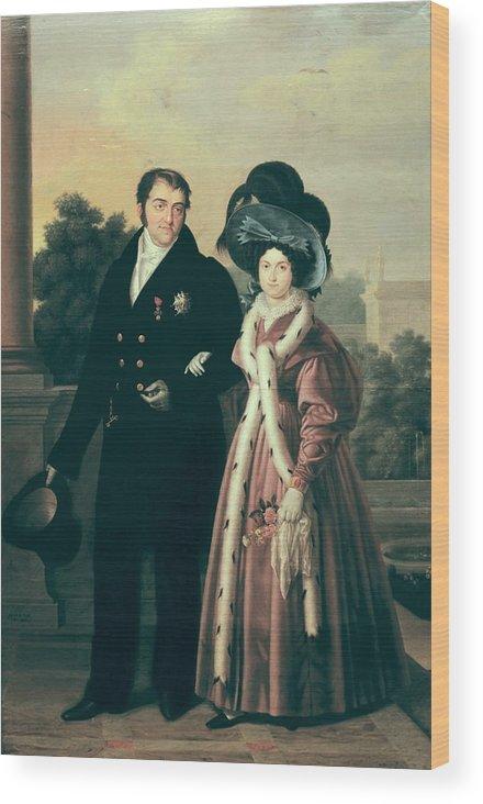 Vertical Wood Print featuring the photograph Cruz Y Rios, Luis De La 1776-1853 by Everett