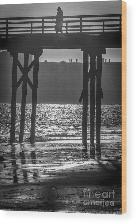Gone Fishin Wood Print featuring the photograph Gone Fishing by Mitch Shindelbower