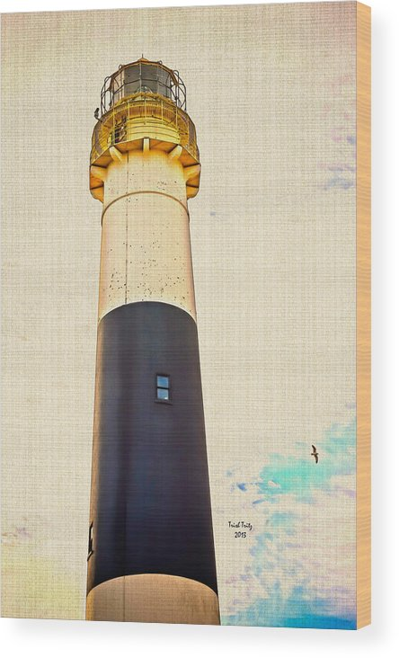 Lighthouse Wood Print featuring the photograph Historic Absecon Lighthouse by Trish Tritz