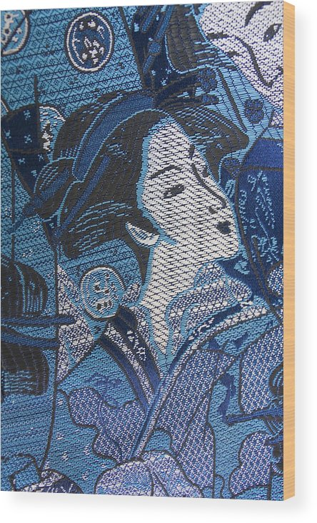 Japanese Lady Wood Print featuring the photograph Japanese Lady by Liz Leyden