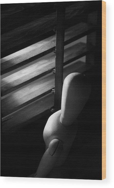 Mannequin Wood Print featuring the photograph Le Mannequin by Amanda Bangham