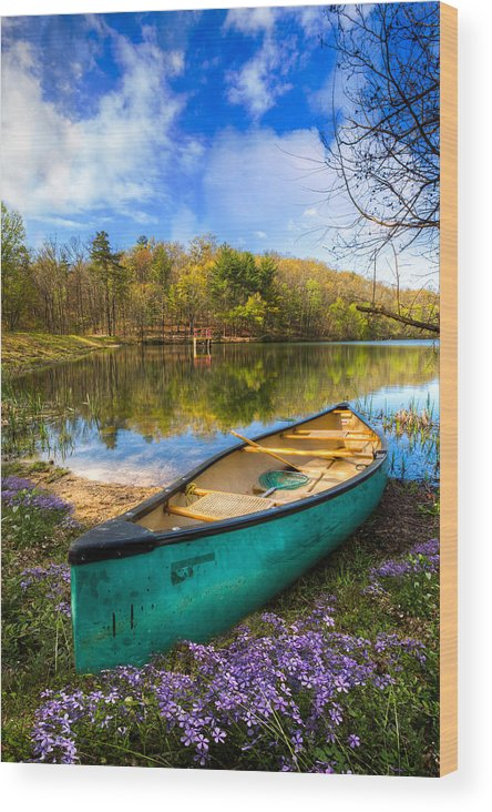 Appalachia Wood Print featuring the photograph Little Bit Of Heaven by Debra and Dave Vanderlaan