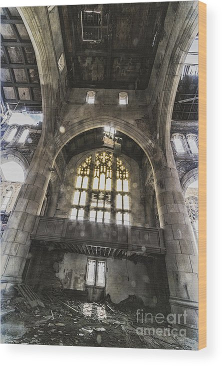 Church Wood Print featuring the photograph Lovely In Its Heyday by Margie Hurwich
