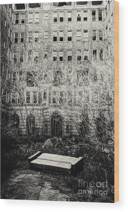 Apartments Wood Print featuring the photograph Moving Day by Margie Hurwich