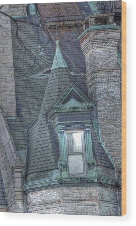 Wood Print featuring the photograph Mt Vernon Mystery by Shmuel Vick
