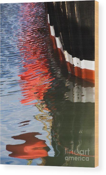 New Seeker Wood Print featuring the photograph New Seeker Reflections by Susie Peek