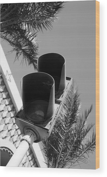 Jezcself Wood Print featuring the photograph Stop Here by Jez C Self