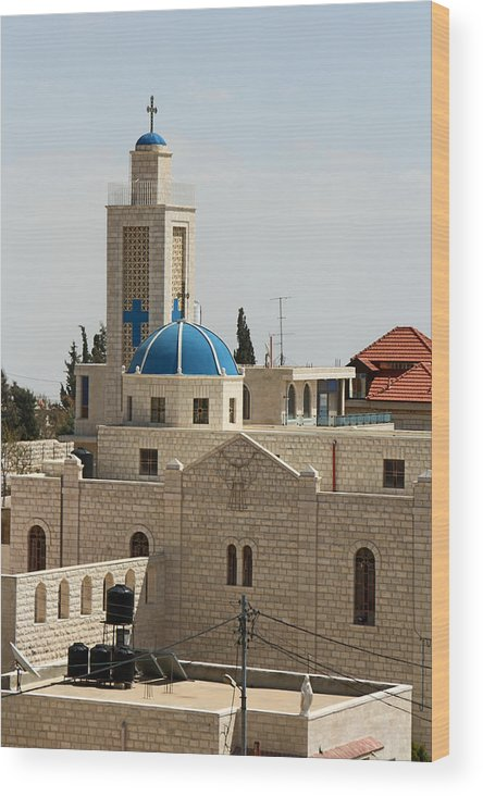 Taybeh Wood Print featuring the photograph Sunny Day by Munir Alawi