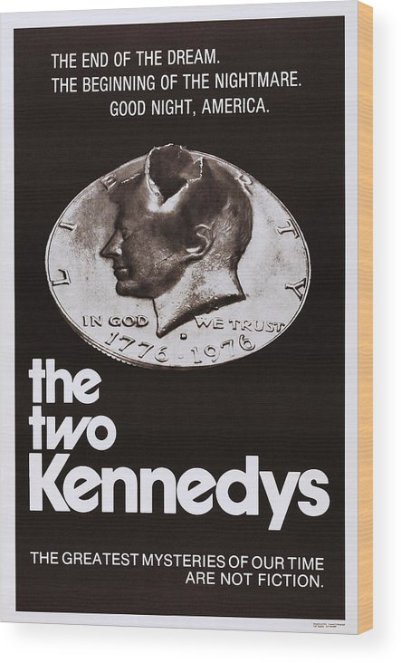 1960s Movies Wood Print featuring the photograph The Two Kennedys, Aka I Due Kennedy by Everett