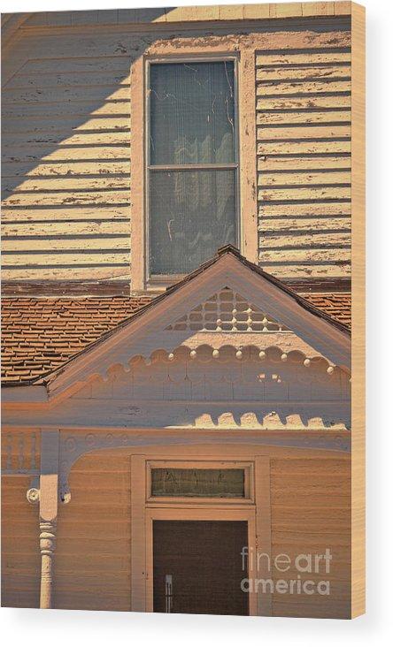 House Wood Print featuring the photograph Victorian House Detail by Jill Battaglia