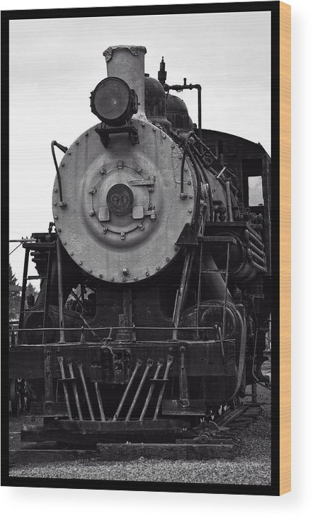 Garibaldi Wood Print featuring the photograph Vintage Train 90 by Image Takers Photography LLC - Carol Haddon
