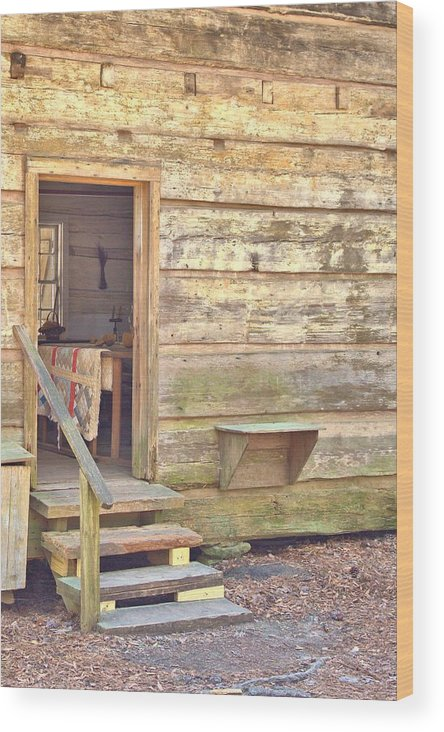 8205 Wood Print featuring the photograph Wipe Your Feet by Gordon Elwell