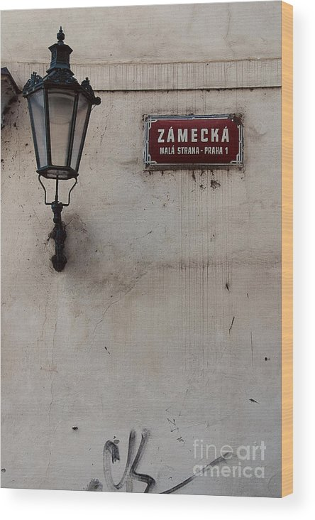 Photography Wood Print featuring the photograph Zamecka Mala Strana by Ivy Ho
