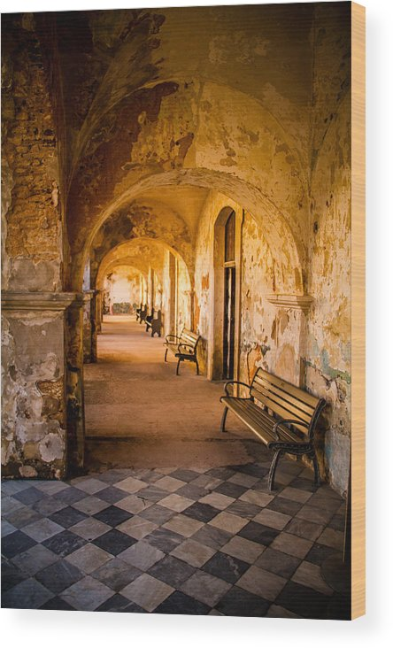 Spanish Fort Wood Print featuring the photograph Castillo De San Cristobal by Randy Wood
