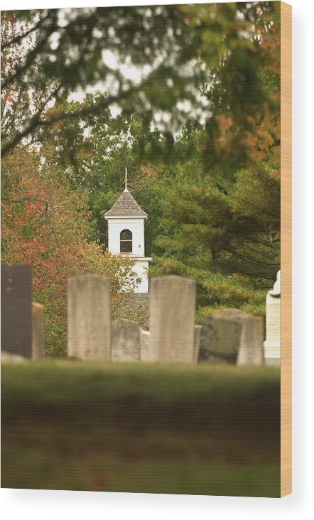 new England Landscapes Wood Print featuring the photograph Final Resting Place by Paul Mangold