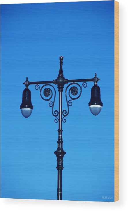 Brooklyn Wood Print featuring the photograph Lights Of Coney Island by Rob Hans