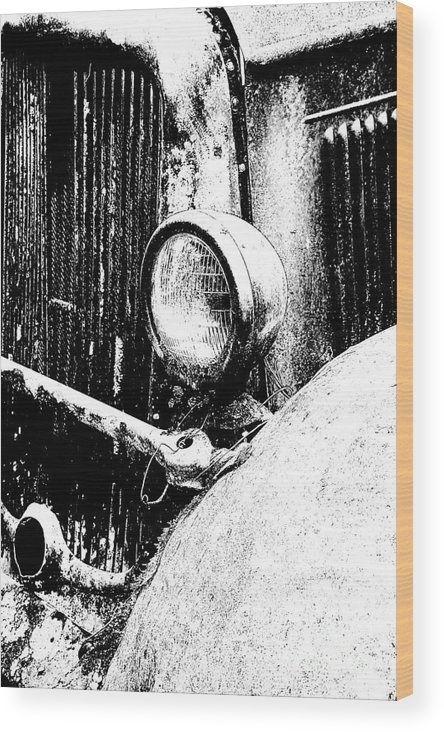 History Wood Print featuring the photograph Old Dodge by Barry Shaffer