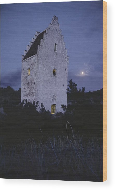 Europe Wood Print featuring the photograph The Famed Sunken Church Is Featured by Sisse Brimberg