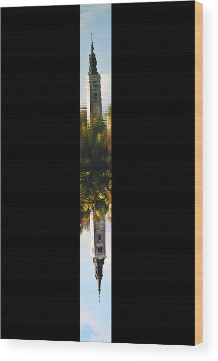 Up Wood Print featuring the photograph Untitled by Dan Gazit