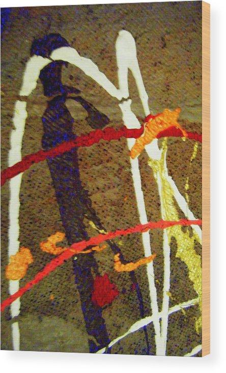 Wood Print featuring the photograph   Autumn Joy by Mildred Ann Utroska    Mauk