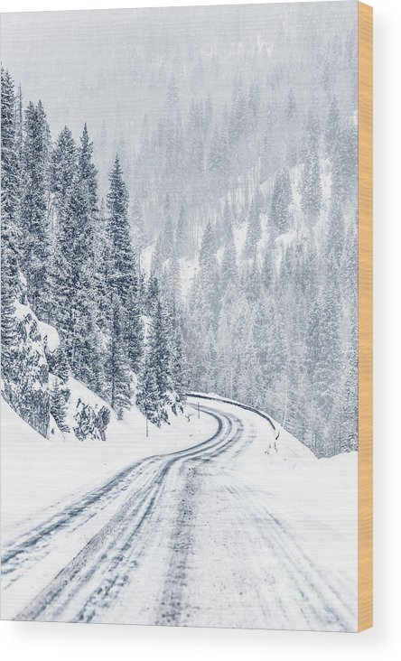 Kremsdorf Wood Print featuring the photograph As Far As Dreams Can Go 1 by Evelina Kremsdorf