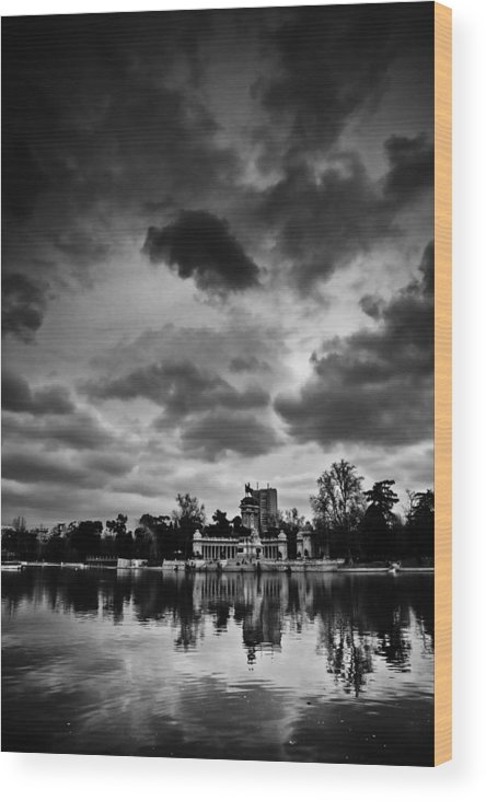 Park Wood Print featuring the photograph Retiro by Felix M Cobos