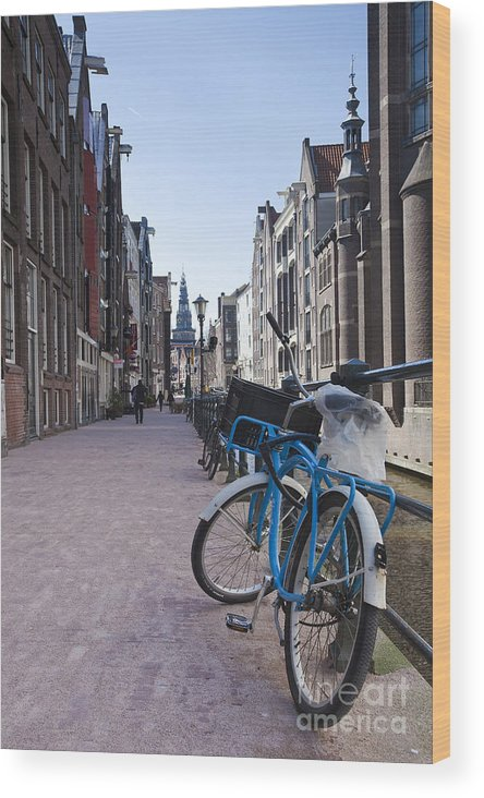 Age Wood Print featuring the photograph Streets Of Amsterdam by Andre Goncalves