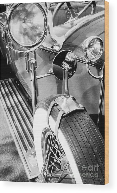 Rolls Royce Wood Print featuring the photograph 1907 Rr Silver Ghost - The 57 Millions Dollar Car by Paul W Faust - Impressions of Light