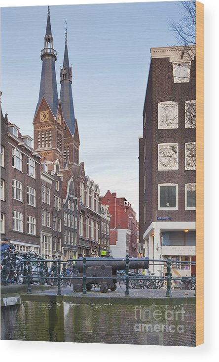 Age Wood Print featuring the photograph Amsterdam by Andre Goncalves