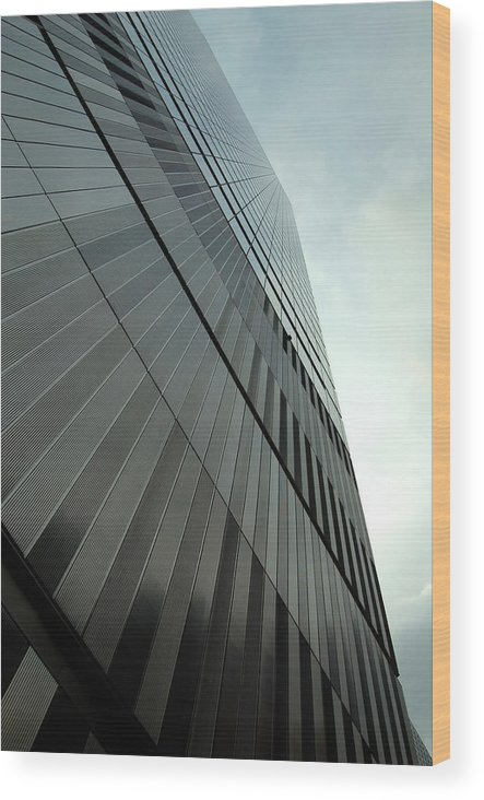 Seven World Trade Wood Print featuring the photograph A New Perspective by Mandy Wiltse
