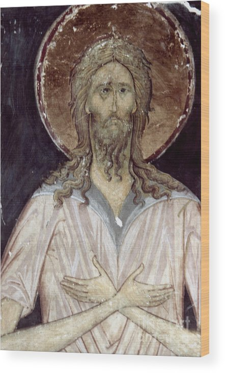 15th Century Wood Print featuring the photograph Alexis The Gods Man by Granger