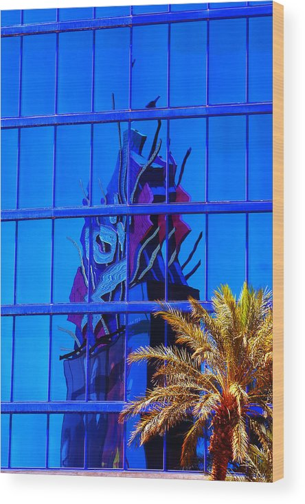 Rio Wood Print featuring the photograph Another Rio Reflection by Richard Henne