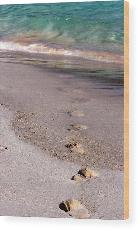 Bermuda Wood Print featuring the photograph Bermuda by Lori Goodwin